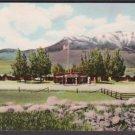 1954 JIM BRIDGER COURT - Gardiner, Montana - Unused Curteich Postcard