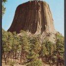 1953 DEVIL'S TOWER - Sundance, Wyoming - Unused Curteich Postcard