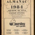 1984 Farmers' Almanac, Vol. 167 - Pursley Turf & Garden