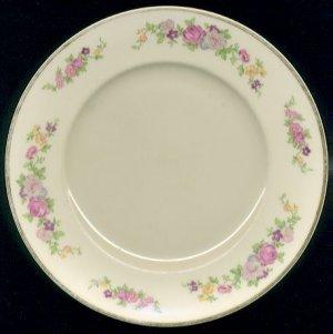 LAMBERTON CHINA Salad Plates (3) - VIRGINIA Pattern