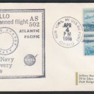 1968 - APOLLO 6 Test Flight - AS 502 Recovery Force Cover - U.S.S. Du Pont (DD-941)