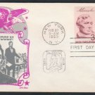 CACHET CRAFT / KEN BOLL - 1959 Lincoln 1c & 3c (#1113-14) Combo FDC - UA