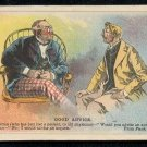 "Victorian Trade Card - Arbuckle Brothers Coffee Company - ""GOOD ADVICE"" (#11)"