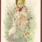 1889 Victorian Trade Card - Arbuckle Brothers Coffee Company - RABBIT (#3)