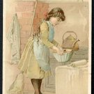 1889 Victorian Trade Card - Arbuckle Brothers Coffee Company - CAKES (#12)