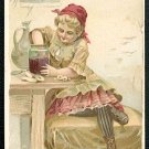 1889 Victorian Trade Card - Arbuckle Brothers Coffee Company - JELLY (#21)