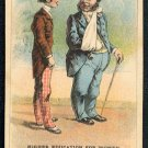 "Victorian Trade Card - Arbuckle Brothers Coffee Company - ""HIGHER EDUCATION FOR WOMEN"" (#9)"