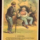 "Victorian Trade Card - Arbuckle Brothers Coffee Company - ""A SINECURE"" (#25)"