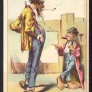 Victorian Trade Card - Arbuckle Brothers Coffee Company - &quot;A CONCISE REASON&quot; (#88)