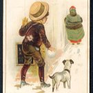 "Victorian Trade Card - Arbuckle Brothers Coffee Company - ""TOMMY'S TEMPTATION"" (#78)"