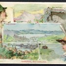 1891 Victorian Trade Card - Arbuckle Brothers Coffee Company - LUZERNE, SWITZERLAND (#15)