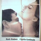 1969 1-Sheet Movie Poster - A FINE PAIR - Rock Hudson, Claudia Cardinale