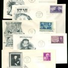 1940s/1950s - 10 Different ARTMASTER Cacheted FDCs - All UA