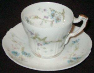 Vintage Theo. Haviland Demitasse Cup & Saucer - Limoges
