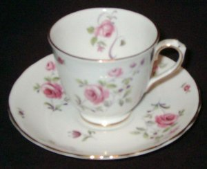 Vintage Royal Chelsea English Bone China - Demitasse Cup & Saucer