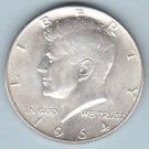 1964-D Kennedy Half Dollar (U.S. Coin - 90% Silver) - Circulated