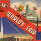 1939 VIEWS of the New York WORLD'S FAIR - 32-page Illustrated Booklet