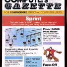 1/86 COMPUTE!'S GAZETTE Magazine (with disk) - COMMODORE 64/128/VIC-20