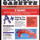 10/85 COMPUTE!'S GAZETTE Magazine (with disk) - COMMODORE 64/VIC-20