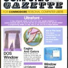 9/86 COMPUTE!'S GAZETTE Magazine - COMMODORE 64/128/VIC-20