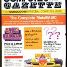 2/87 COMPUTE!&#39;S GAZETTE Magazine - COMMODORE 64/128/VIC-20