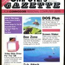 9/87 COMPUTE!'S GAZETTE Magazine - COMMODORE 64/128