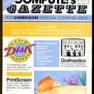 12/87 COMPUTE!&#39;S GAZETTE Magazine - COMMODORE 64/128