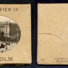 STOCKHOLM, SWEDEN - Vintage Miniature Photo Collection - 10 photos (1920s?)