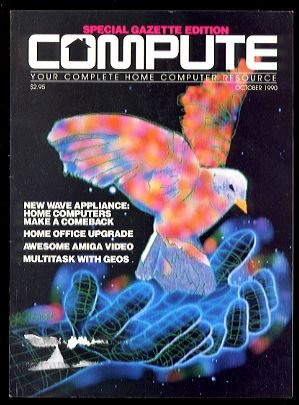 10/90 COMPUTE Magazine: GAZETTE Edition - COMMODORE 64/128