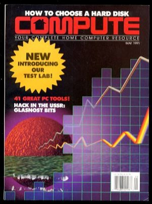 5/91 COMPUTE Magazine: GAZETTE Edition - COMMODORE 64/128