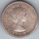 CANADA - 1963 Queen Elizabeth II Dime / Ten Cent Coin (80% Silver) - Circulated