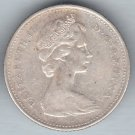 CANADA - 1966 Queen Elizabeth II Dime / Ten Cent Coin (80% Silver) - Circulated