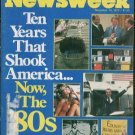 NEWSWEEK - November 19,1979 - 10 Years That Shook America - 1970s retrospective
