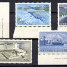 CYPRUS -1967 First Development Program (Sc. #292-96) - MNH Singles