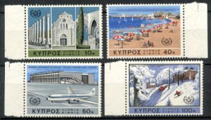 CYPRUS -1967 International Tourist Year (Sc. #304-07) - MNH Singles