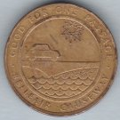Pinellas County, Florida - Belleair Causeway Bridge Token - Undated