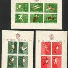 SAN MARINO -1960 Rome Olympics S.S. (Set of 3) - MNH