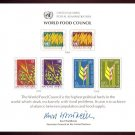 UNITED NATIONS POSTAL ADMINISTRATION Souvenir Card #10 - 1976 WORLD FOOD COUNCIL - Mint