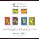 UNITED NATIONS POSTAL ADMINISTRATION Souvenir Card #10 - 1976 WORLD FOOD COUNCIL - Mint