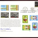 UNITED NATIONS POSTAL ADMINISTRATION Souvenir Card #12 - 1977 COMBAT RACISM - First Day (New York)