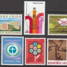 UNITED NATIONS (Geneva) - 1972 Complete Year Set (Sc. #22-29) - MNH