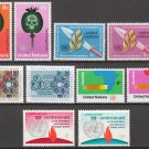 UNITED NATIONS (New York) - 1973 Complete Year Set (Sc. #234-43) - MNH