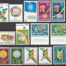 UNITED NATIONS (New York) - 1976 Complete Year Set (Sc. #267-80) - MNH