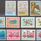 UNITED NATIONS (New York) - 1966 Complete Year Set (Sc. #150, 154-63) - MNH