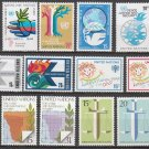 UNITED NATIONS (New York) - 1979 Complete Year Set (Sc. #304-15) - MNH