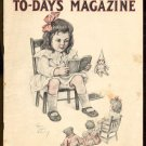 9/15/1911 TO-DAY'S MAGAZINE - short stories, illustrations, vintage ads