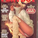 11/78 Playboy Magazine - MONIQUE ST. PIERRE, GERALDO RIVERA, Bunnies of '78