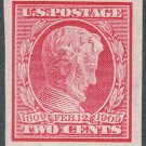 1909 2¢ Abraham Lincoln Centenary - Imperforate - U.S. Postage Stamp (Sc. #368) - MNH