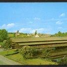 SHELBURNE, VERMONT - Shelburne Museum, Covered Bridge - Unused Color Postcard