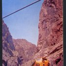 1950s CANON CITY, COLORADO - Royal Gorge Bridge, Denver & Rio Grande Streamliner - Unused Postcard